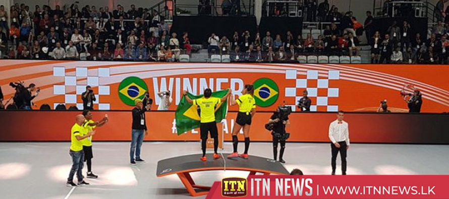 Hungary and Brazil claim titles at Teqball world championships