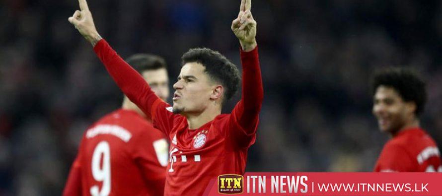 Coutinho hat-trick in Bayern's 6-1 demolition of Werder