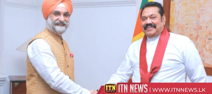 High Commissioner of India and Ambassador of China call on the Prime Minister