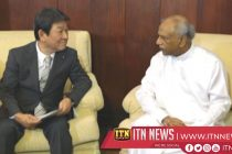 Japanese Foreign Minister meets his Lankan counterpart