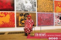 Thousands queue to see Yayoi Kusama exhibit in New York