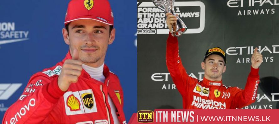 Ferrari secure Leclerc for the next five years