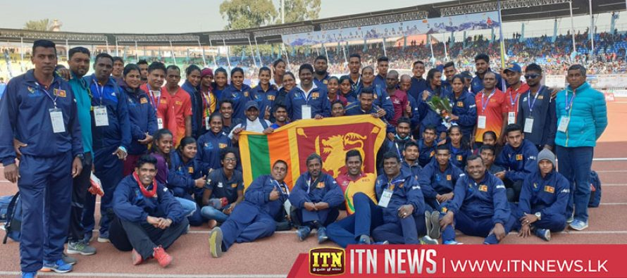 Sri Lankan athletes break the Indian dominance in the history of South Asian Games