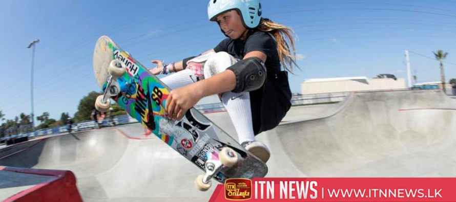 Sky is the limit for 11-year-old skateboarding prodigy