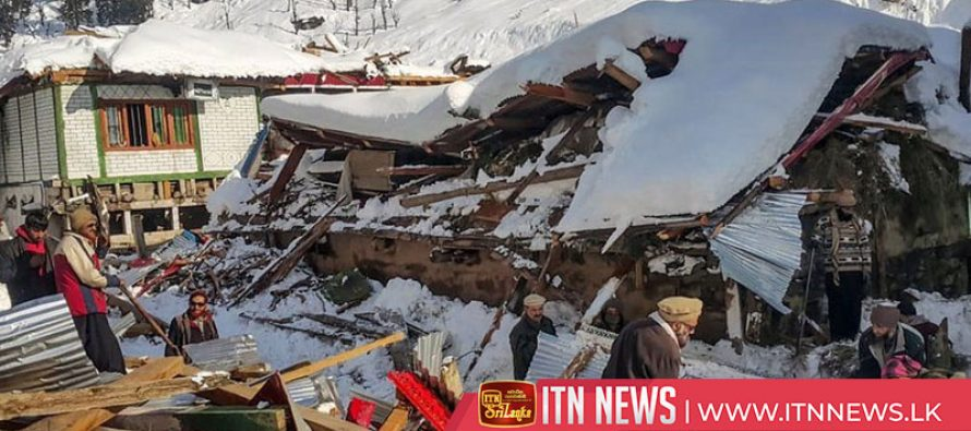 Kashmir avalanches and landslides leave dozens people dead