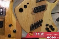 Ukrainian crafts 'green' musical instruments from recycled furniture