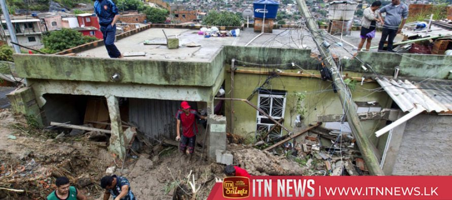 Nearly 50 dead, thousands displaced as storms lash southeast Brazil