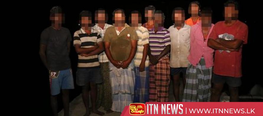 சட்டவிரோத மீன் பிடி நடவடிக்கையில் ஈடுபட்ட 11 இந்திய மீனவர்கள் கைது