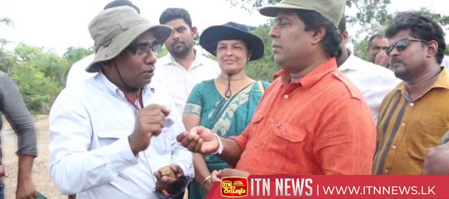 இராஜாங்க அமைச்சர் ஜயந்த சமரவீர அருவக்காடு பகுதிக்கு கண்காணிப்பு விஜயம்