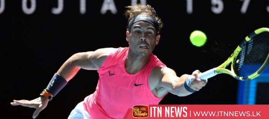 Nadal into second round but Sharapova goes out