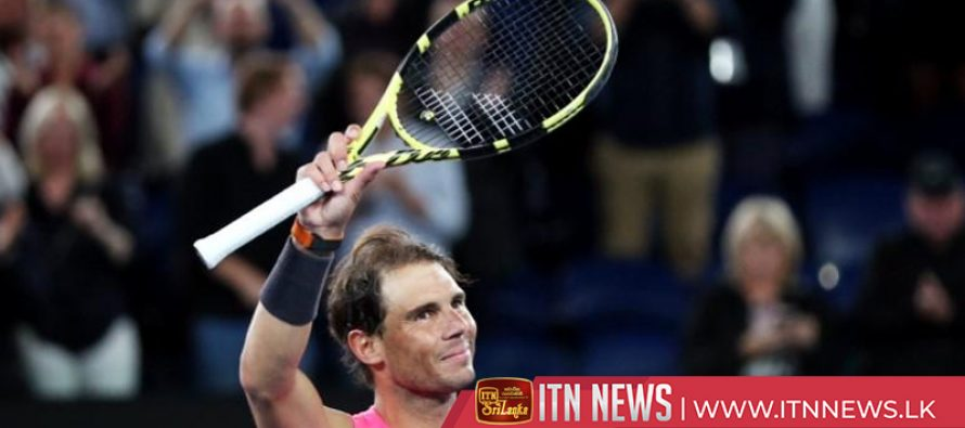 Nadal eases into third round in Melbourne