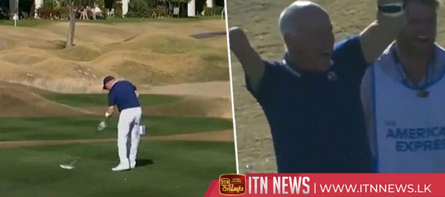 One-armed golfer hits hole in one at PGA tournament