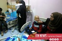 Cancer survivor draws smiles on faces of Iraqi child patients