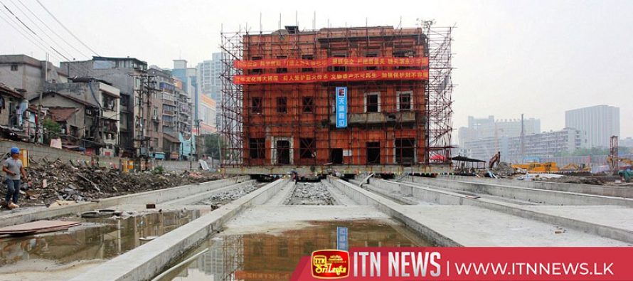 5-storeyed building moved horizontally for 24 meters in east China city