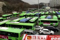 Seoul disinfects buses amid virus outbreak