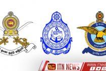 பொதுமன்னிப்பு காலப்பகுதியில் முப்படையை சேர்ந்த 8 ஆயிரத்து 18 பேர் மீண்டும் சேவைக்கு..