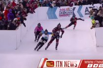 Croxall and Trunzo battle to Ice Cross wins in Quebec