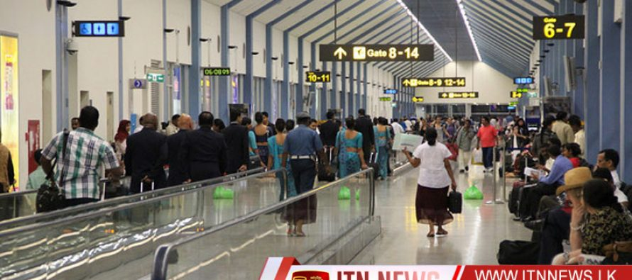 Security in the Bandaranaike International Airport has been beefed up