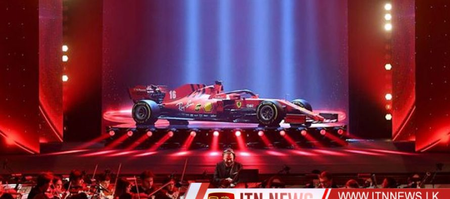 Ferrari show off new SF1000 car with a touch of theatre