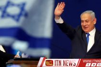 Israeli exit polls say victory could be within Netanyahu's grasp