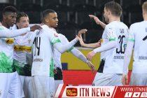 Gladbach beat Cologne in eerie empty stadium