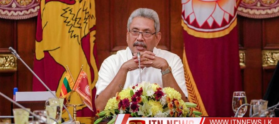 The President says Sri Lankan women are on par with those of the developed countries