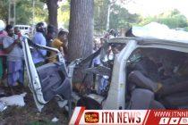 லுனுகம்வெஹர பகுதியில் இடம்பெற்ற வாகன விபத்தில் 6 பேர் பலி