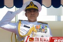 Navy Commander promoted to the rank of Admiral