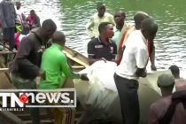 Three drowned, dozens missing, after boat sinks in Congo lake