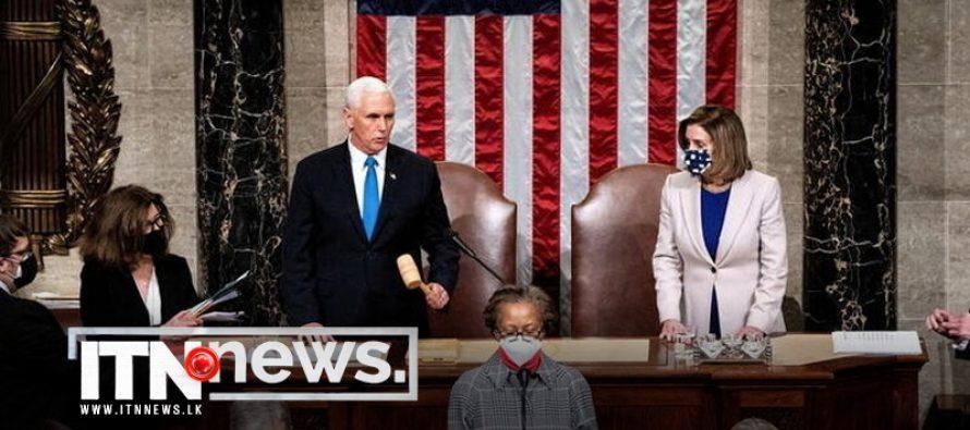 U.S. Congress certifies Biden win hours after harrowing Capitol Hill assault