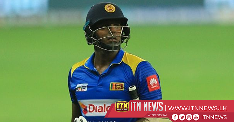 Angelo Mathews dropped from 15-member squad for ODIs against England