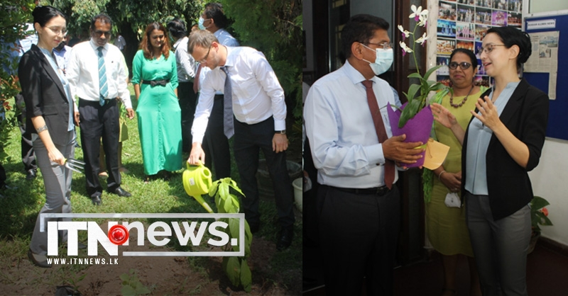 Earth Day 2021: Dr. Anil Jasinghe joined trees planting action at the Russian House