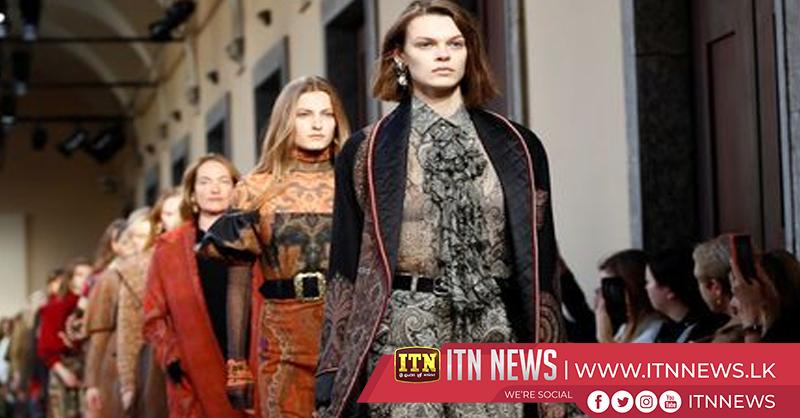 """Etro goes """"Aristo-Indie"""" at Milan Fashion Week show"""