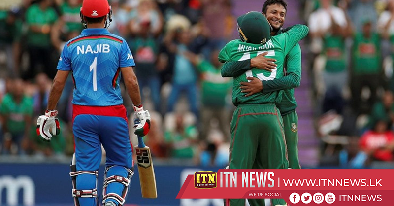 Bangladesh beat Afghanistan to boost semi-final hopes
