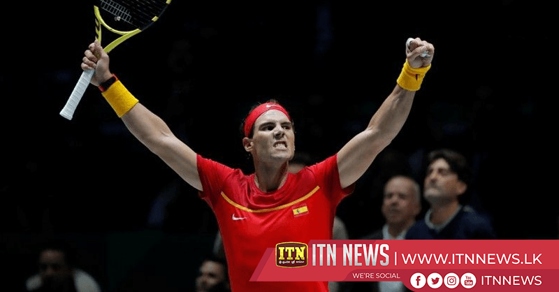 Nadal draws Spain level, Canada into Davis Cup quarters