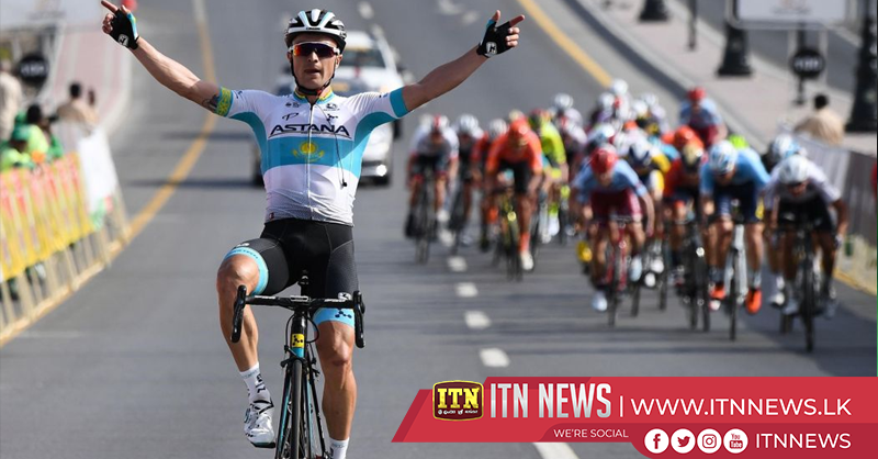 Lutsenko wins Stage 3 of Tour of Oman to take overall lead