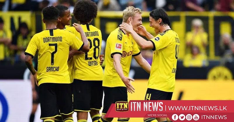 Borussia Dortmund start Bundesliga campaign with 5-1 Augsburg rout