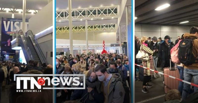 Long queues at Brussels Airport as mandatory COVID-19 testing comes into force