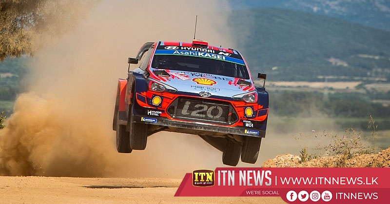 Del Barrio takes lead in Sardinia as Latvala hits trouble
