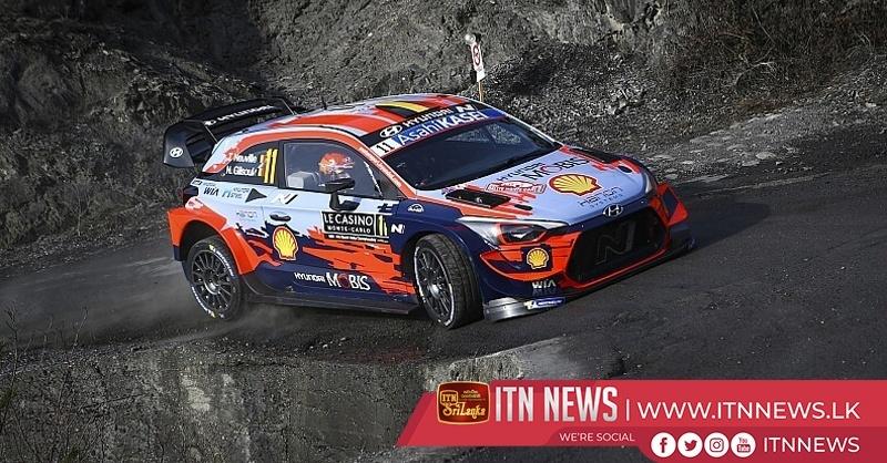 Neuville wins Monte Carlo season-opener for Hyundai