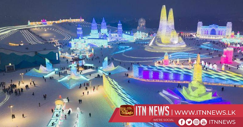China's northernmost province offers nighttime ice-snow tourism program to boost economy