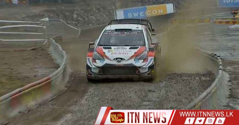 Elfyn Evans doubles his lead over Ott Tanak in the second leg of Rally Sweden