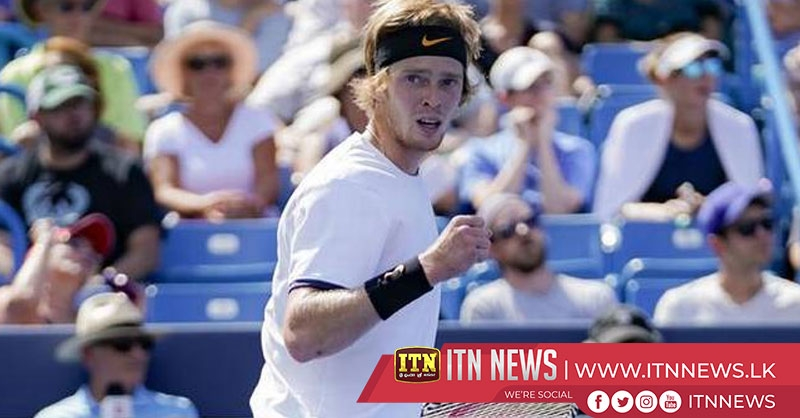 Federer beaten by Russian qualifier Rublev in Cincinnati