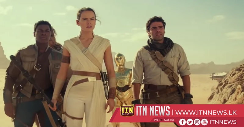 """Star Wars: The Rise of Skywalker"" will be released theatrically this Friday"