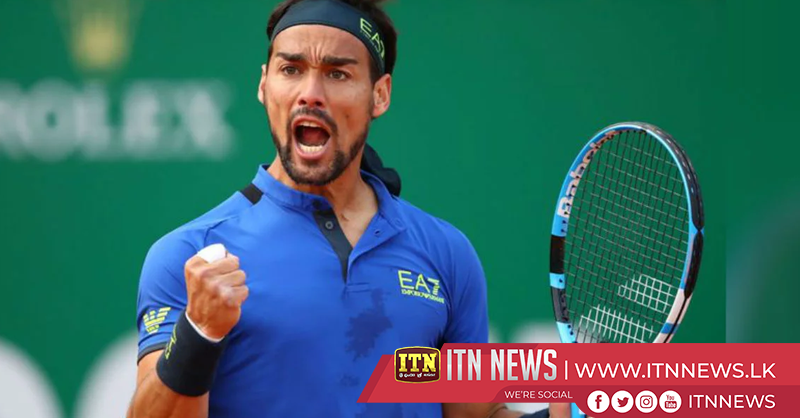 Fognini upsets Zverev to reach Monte Carlo quarter-finals