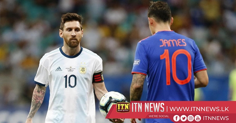 Colombia outduels Messi, Argentina with two second half goals