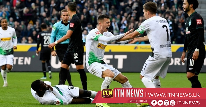 Herrmann double sees Gladbach open up four-point Bundesliga lead