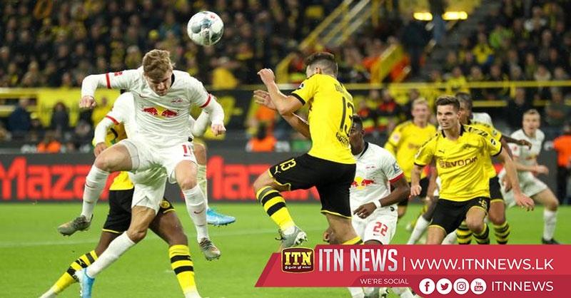 Dortmund, Leipzig share the points in six-goal thriller