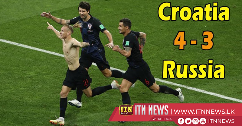 Croatia ends Russia's World Cup dream on penalties