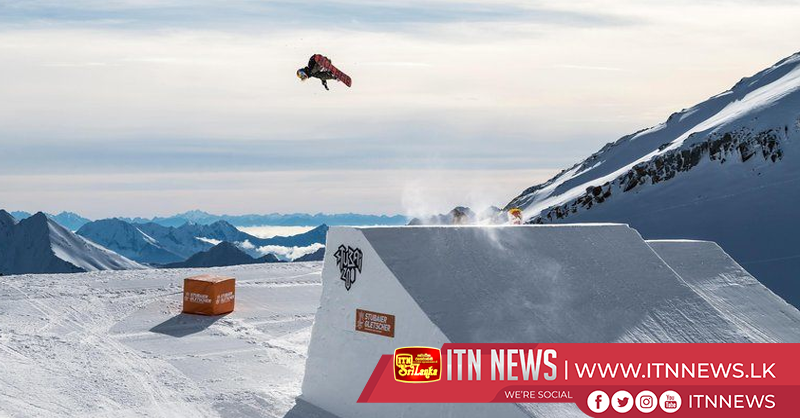 Gasser soars to world's first female snowbaording Triple Cork